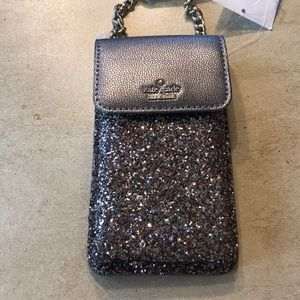 Kate Spade North South Crossbody Glitter